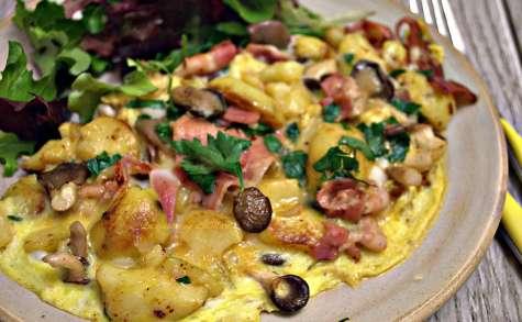 Omelette à la salardaise
