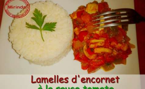 Encornets à la sauce tomate