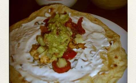 Fajitas au poulet citronné et aux épices