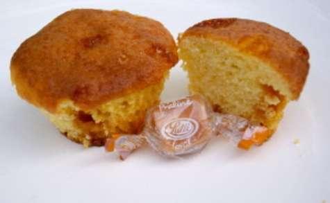 Muffins aux bonbons caramels