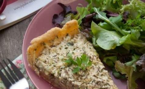 Tarte à la courgette et tofu soyeux - 100% végétale