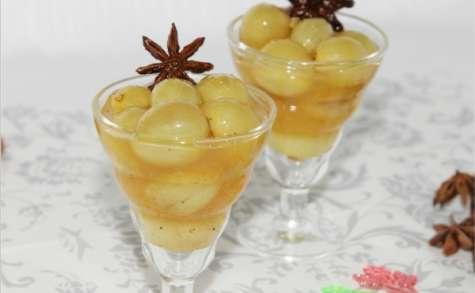 Raisins à l'orange et aux épices