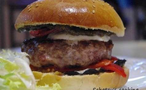 Hamburger à l'italienne