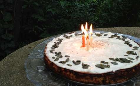 Cheesecake au potiron, sirop d'érable et épices douces