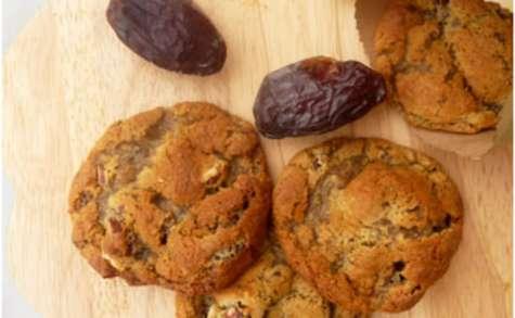 Cookies aux dattes et noisettes