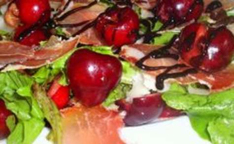 Salade cherry-cheese