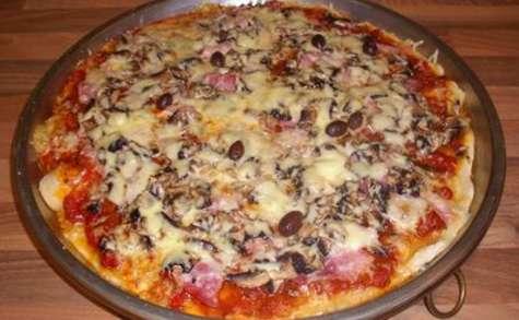 La patouzza traditionnelle (pizza)