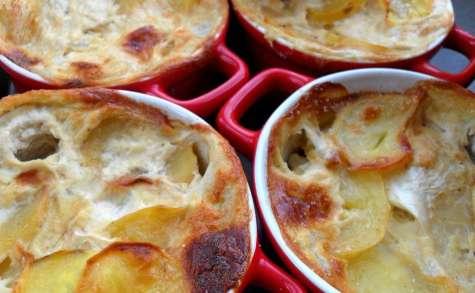 Gratin dauphinois aux pommes de terre navet céleri rave