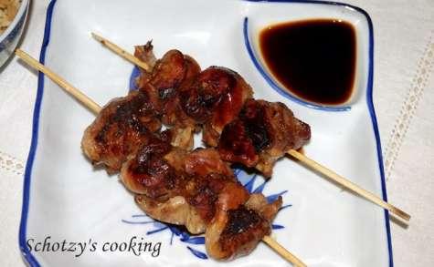Domburi de poulet et riz cantonais