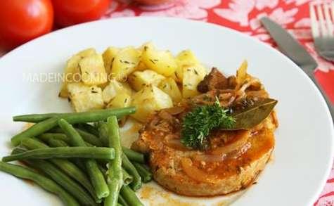 Côtes de porc à la sauce tomate