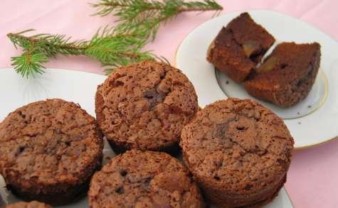 Moelleux au chocolat et gingembre confit