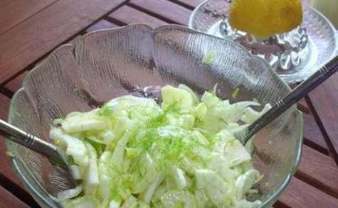 Salade express aux fenouils