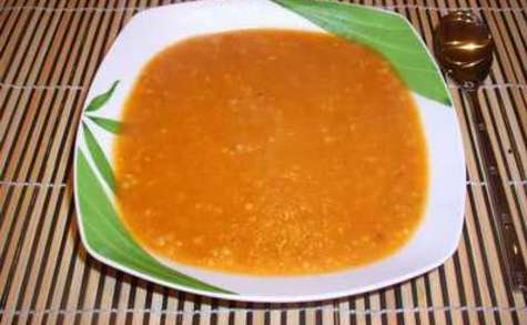 Soupe de légumes au boulghour