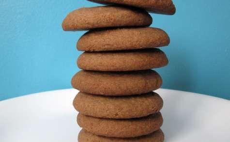 Biscuits sans gluten au teff et au beurre d'arachides