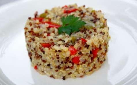 Trio de quinoa aux poivrons