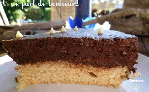 Génoise & sa Mousse au Chocolat
