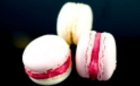 Macarons vanille-fraise