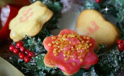 Biscuits au citron calendrier de l'avent