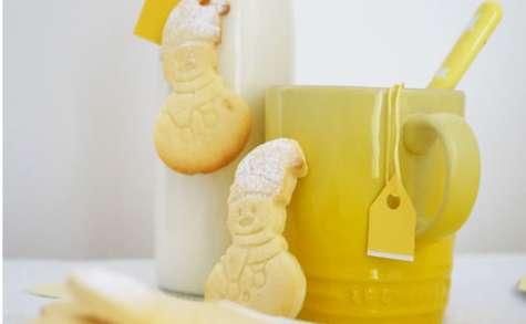 Shortbreads tout citron au lemoncurd