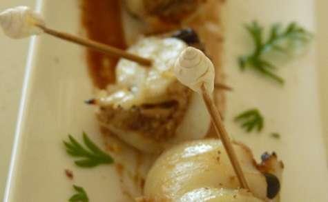 Tapas de seiches aux sardines