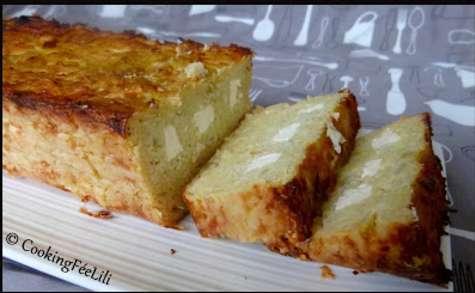 Raclette-Cake, le cake aux pommes de terre râpées façon raclette