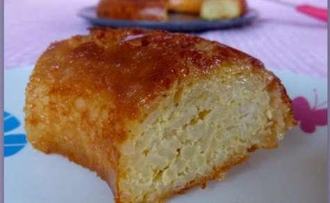 Gateau de riz au caramel de la grand-mère