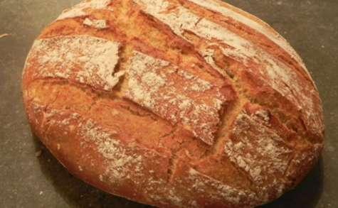 Miche de pain en cocotte