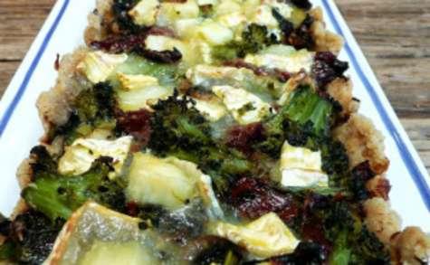 Tarte aux légumes (sans gluten, IG bas)