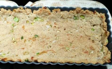 Pâte à tarte végétalienne à la poudre d'amande (salée)