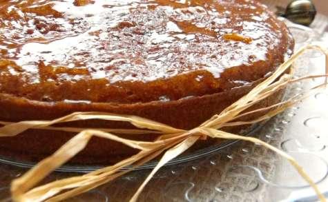 Moelleux au butternut, raisins secs, oranges et épices de Noël