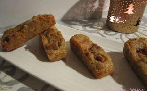 Financiers au foie gras