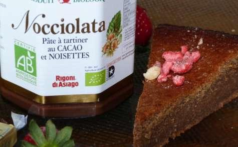 Gâteau chocolat-noisette et Nocciolatta