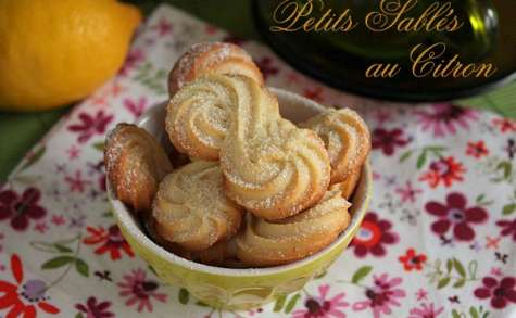 Petits Biscuits au Citron