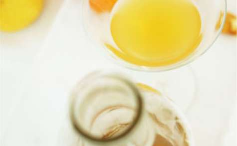 Cidre chaud à l'orange et aux épices