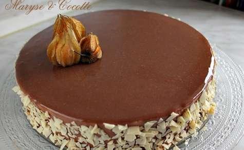 Gâteau à la mousse pralinée
