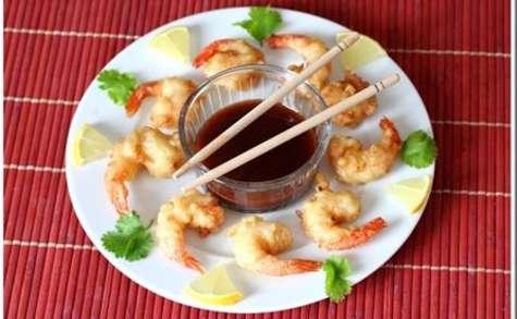 Beignets de crevettes Sauce piquante
