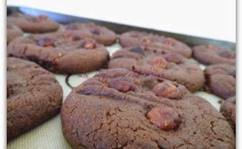 Cookies choco-noisettes du goûter