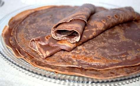Pâte à crêpes au chocolat