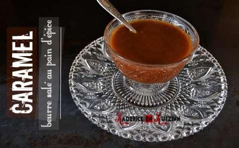 Caramel beurre salé au pain d'épice comme une pâte à tartiner