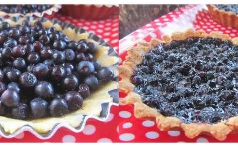 La tarte aux myrtilles