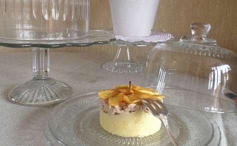 """Boudins blancs aux pommes façon """"parmentier"""""""