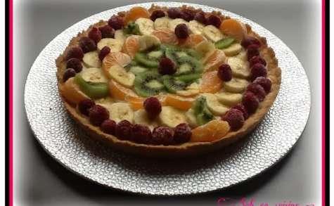 Recettes de tarte par sab en cuisine tarte tutti frutti for Regilait cuisine