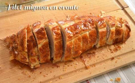Filet mignon en croute