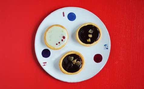 Tartelettes au chocolat noir et au gingembre