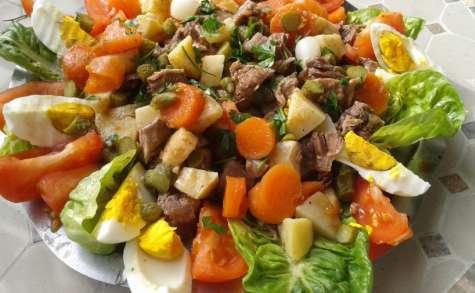 Pot-au-feu en salade