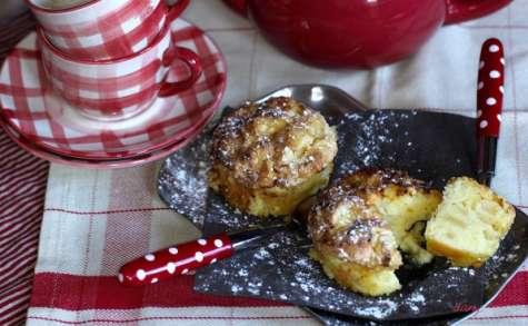 Gâteau acidulé aux pommes façon sharlotka