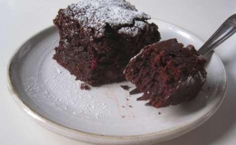 Gâteau fondant au chocolat et aux betteraves