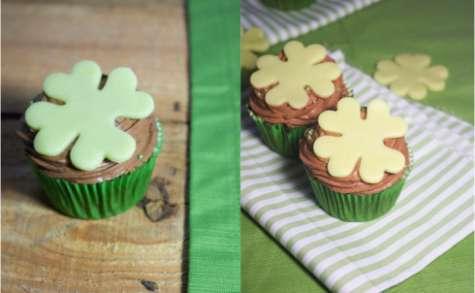 Cupcakes de la saint-patrick, guinness et chocolat