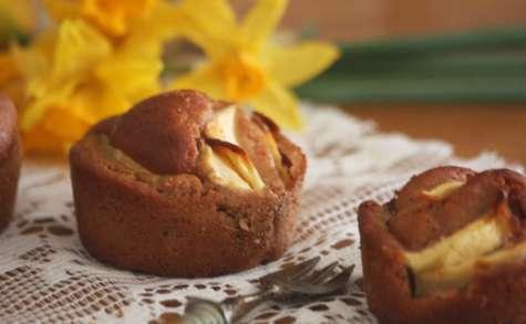 Petits gâteaux farine de châtaine et pomme