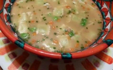 Soupe miso aux ravioles de Romans